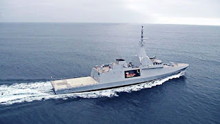 Kapal Perang Korvet Gowind