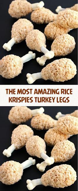 THE MOST AMAZING RICE KRISPIES TURKEY LEGS