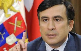 Presiden Georgia: Mikheil Saakashvili