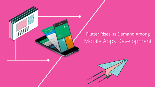 Flutter Rises Its Demand Among Mobile Apps Developments