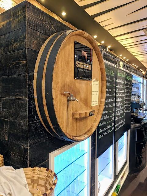 San Sebastián food and drink: Basque Cider from Sidreria Beharri