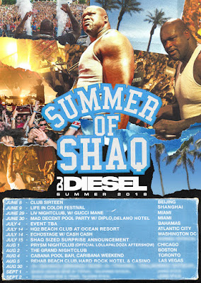 Shaquille O'Neal To Embark on First-Ever DJ Tour, Summer of SHAQ: Exclusive