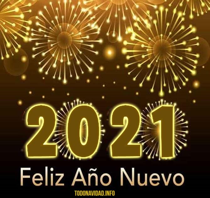Gif originales de Feliz Año Nuevo 2021 Tarjetas con movimiento para saludar y enviar por WhatsApp