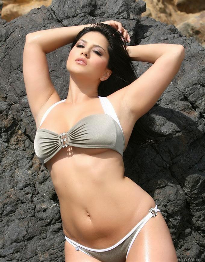 Sunny Leone Hot Two Piece Bikini Photos - Hot  Sexy -6606