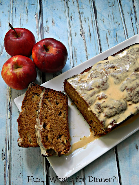 Hun... What's for Dinner? Apple Cinnamon Bread- Secret Recipe Club
