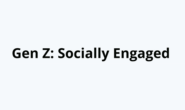 What are the social engagements of Gen Z?