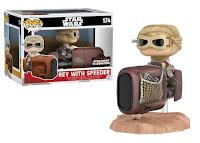 Pop! Deluxe: Rey with Speeder