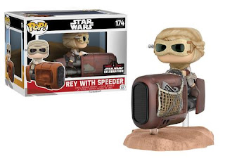 Pop! Deluxe: Rey with Speeder