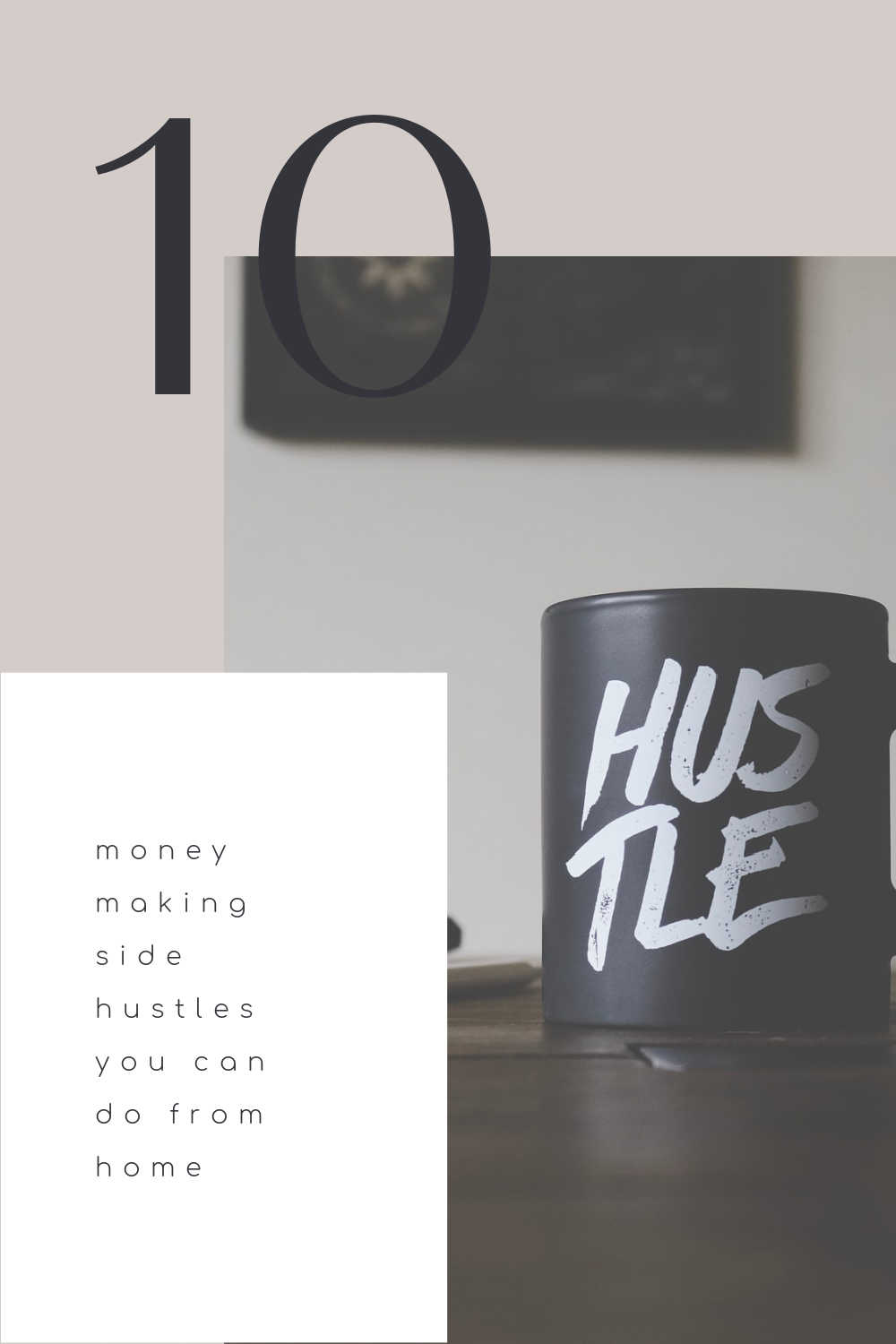 moeny  side hustle to do at home