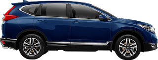 crv turbo biru