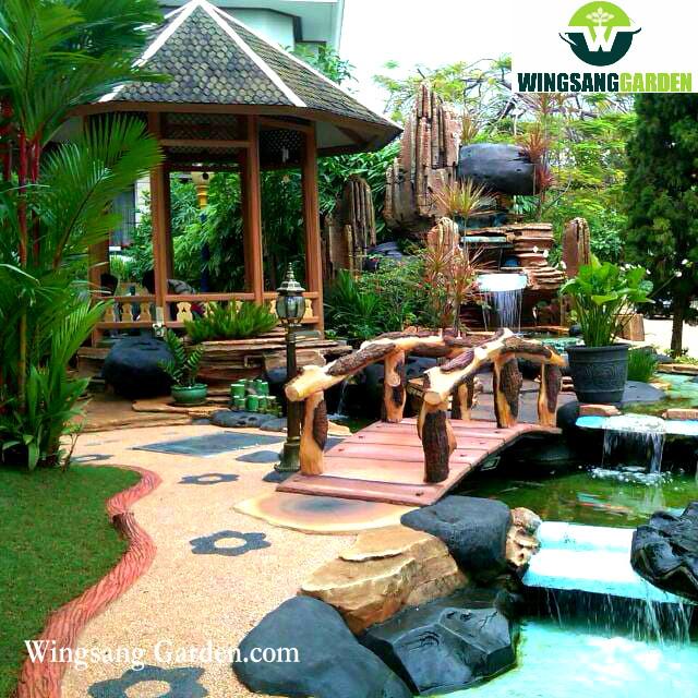 Jasa Tukang Kolam Relief Tebing Jombang | Jasa Pembuatan Kolam Air Terjun Di Jombang