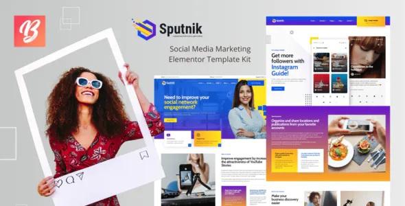 Best Social Media Marketing Elementor Template Kit