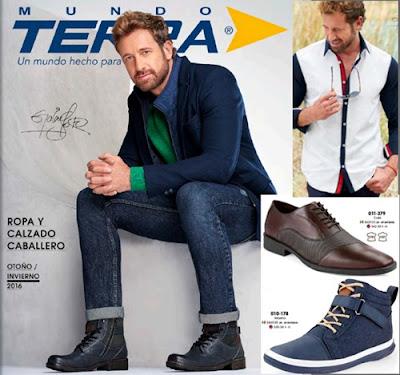 Catalogo mundo terra con ropa y zapato de caballero 2016 for Catalogos terra