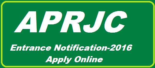 APRJC CET 2016 Notification has issued by APRJC Nagarjuna Sagar, Guntur District in Andra Pradesh. APRJC 2016 Notification APRJC CET 2016 Exam Schedule Fee Particulars 1st Inter Admissions in Residential Junior College admissions 1st year Admissions APRJC Hall Tickets Download Online Application 2016 APRJC 2016 Eligibility APRJC 2016 Exam Patternand Syllabus APRJC 2016 Exam Dates. http://www.paatashaala.in/2016/02/aprjc-entrnce-test-notification-2016-apply-online-aprjc.cgg.gove.in.html