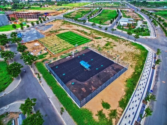 Khu đô thị Vạn Phúc đang trong quá trình hoàn thiện giai đoạn 1