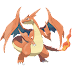 Pokemon coloring pages - Charizard