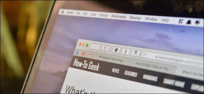 زيادة أزرار التباين على Mac