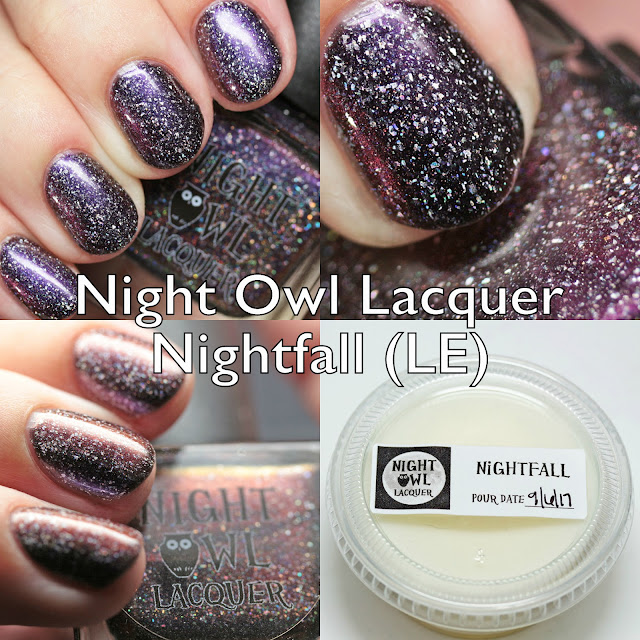 Night Owl Lacquer Nightfall Anniversary Polish