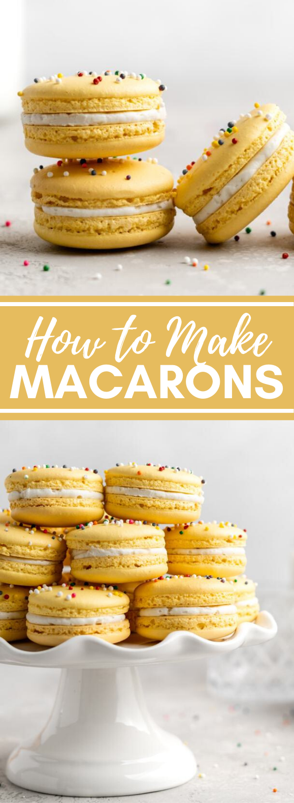 HOW TO MAKE MACARONS #desserts #cookies