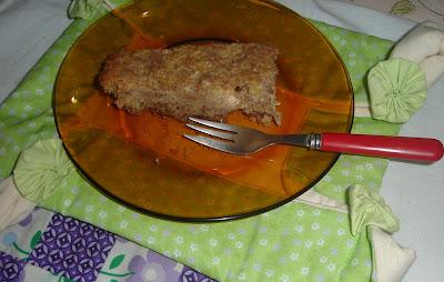 receita de bolo de maçã saudável