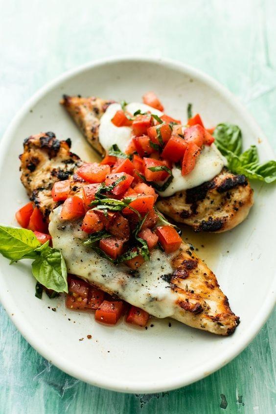 Bruschetta Grilled Chicken