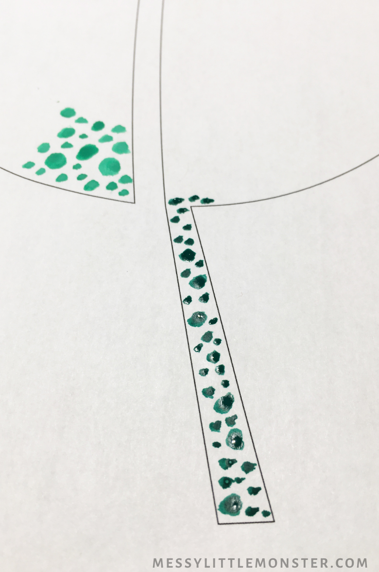 dot painting for kids