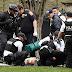 Un hombre en silla de ruedas intentó prenderse fuego frente a la Casa Blanca