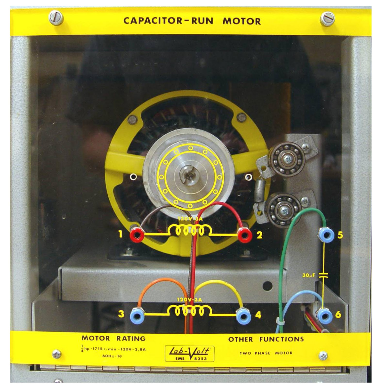 Capacitor Start Capacitor Run Induction Motor