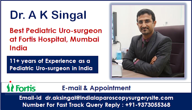 Dr. A K Singal Provides 360 Degrees of Coordinated Care in Pediatric Urology in India