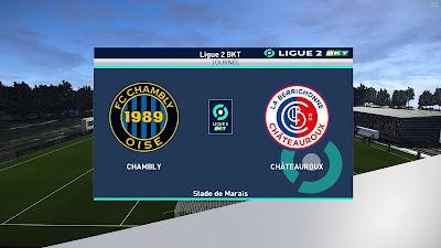 PES 2021 Scoreboard Ligue 2 BKT Enhanched