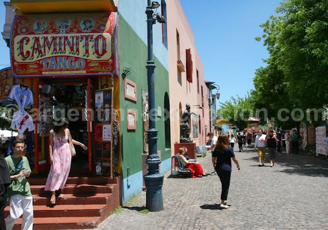 best places to visit in argentina caminito