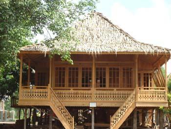 Rumah Kayu Panggung Joglo Minimalis
