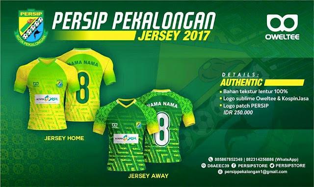 Jersey Persip Pekalongan Liga 2 Musim 2017