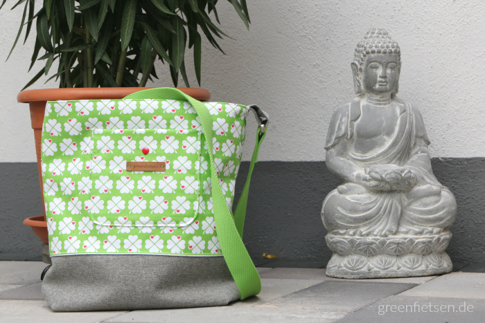 Glücksklee-Tasche mit ganz viel Entspannung