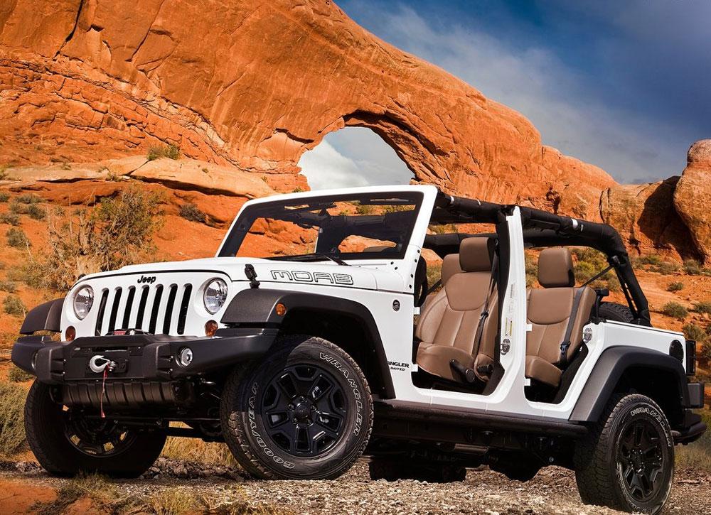 Nancys Car Designs: 2013 Jeep Wrangler Unlimited Moab