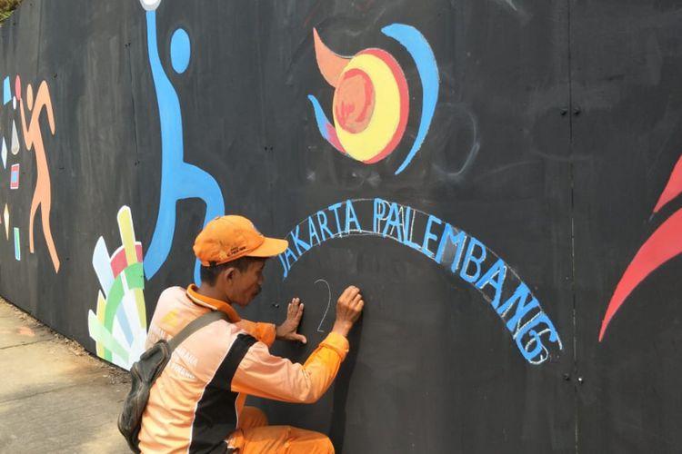 Foto-Foto Mural Asian Games 2018 Di Jakarta dan Palembang - 3