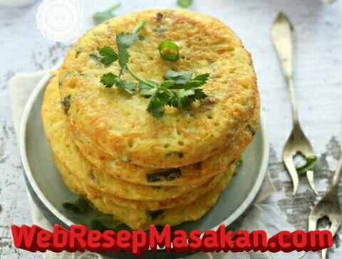 Pancake kentang keju untuk diet, Resep Pancake kentang keju untuk diet,