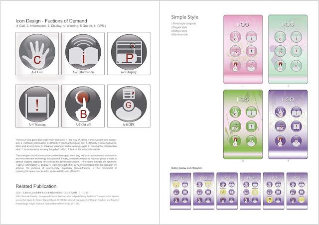 友善女性的大眾工具場域移動輔助系統: UI 與 UX 設計2,梁又文老師設計作品集