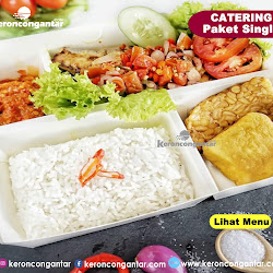 LUNCH BOX CATERING NGANTOR/ SINGLE <p>Rp.20.000</p> <code>044</code> Min. 5 pack, 5 Hari