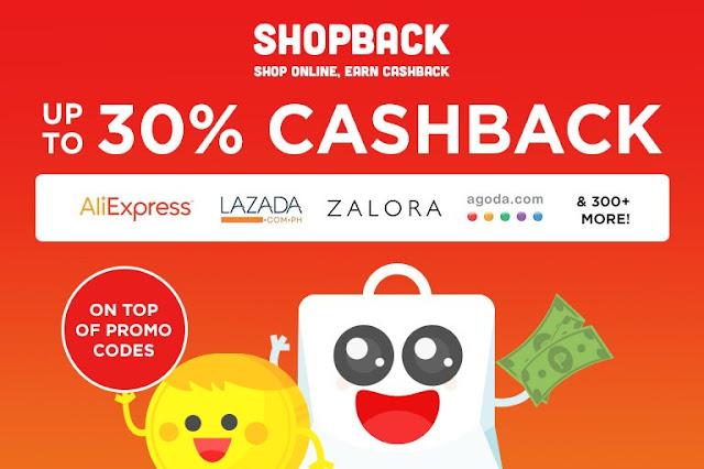 dapatkan cashback ShopBack