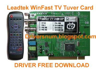 LEADTEK WINFAST TV DRIVER FOR MAC