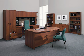 Luxurious Executive Office Interior