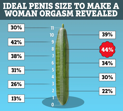 penis  size for good orgasm