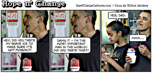 obama, obama jokes, food taster, daughter, stilton jarlsberg, hope n' change, hope and change, conservative