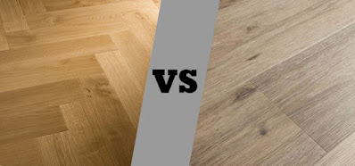 Perbandingan lantai kayu solid dengan lantai vinyl