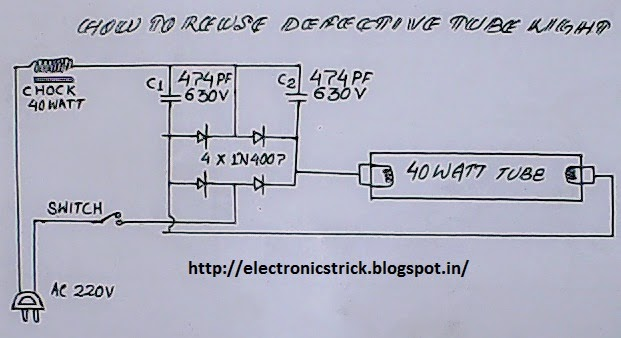 Electronics Tricks And Tips How To Re Use Defective Tube