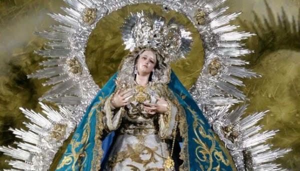 Horario e Itinerario Procesión de Nuestra Señora de la Salud (Hdad del Sol). Sevilla 26 de Octubre del 2019