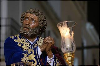 Resultado de imagen de pasos de semana santa las negaciones de Pedro