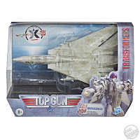 Hasbro Transformers x Top Gun Maverick Collab box pic