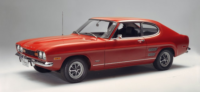 Ford Capri 1960s British classic car